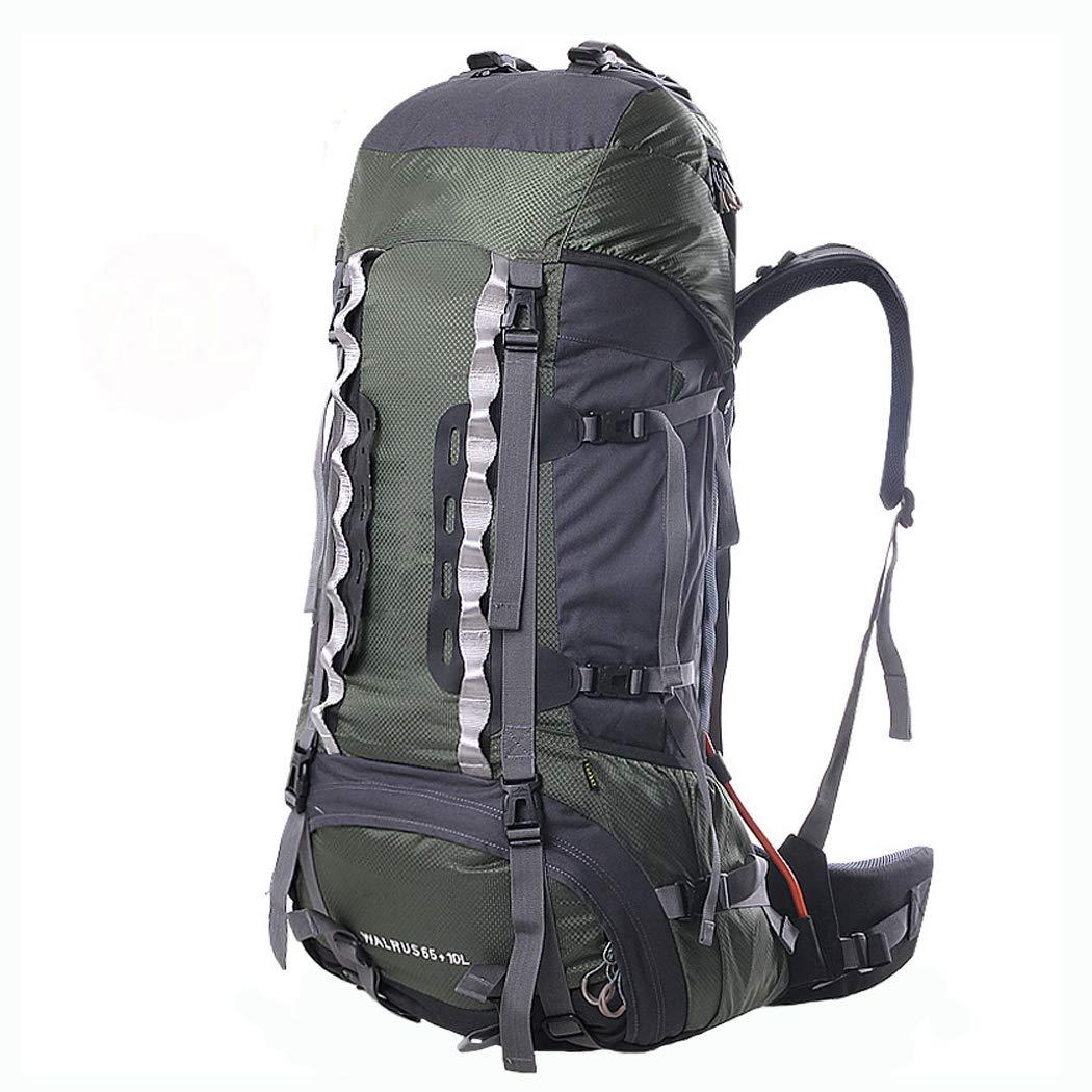 XYW-0006 Sac à Dos 80 litres pour Alpinisme Sac à Dos Outdoor Amovible Sac de Transport Ergonomique Homme - Sac à Dos Anti-Pluie  -