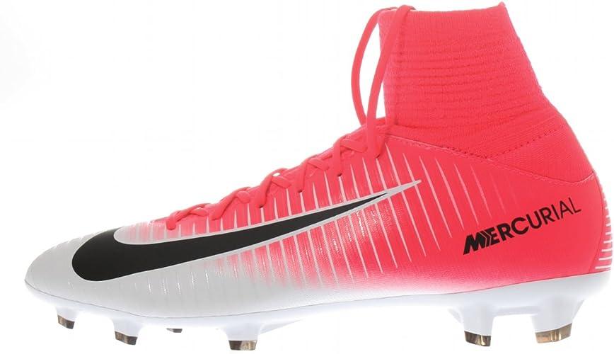 Agarrar Que pasa Ingenioso  Amazon.com | Nike Kids Mercurial Superfly V Fg Racer Pink/Black/White Soccer  Shoe | Soccer