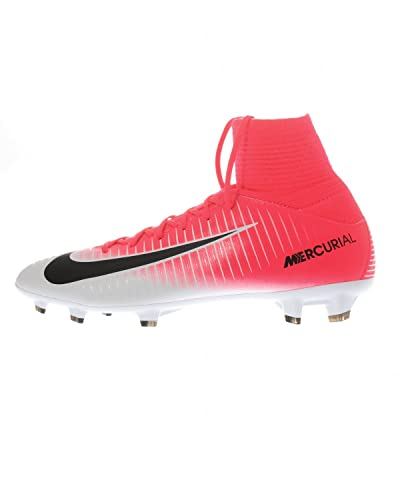 the latest e47c5 7893e Amazon.com | Nike Kids Mercurial Superfly V Fg Racer Pink ...