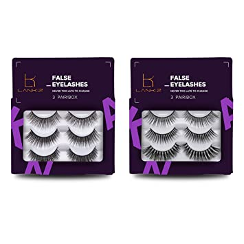 Eyelashes Handmade Wispies False Eyelashes 5 Pairs False Lashes For Daily  Use by LK LANKIZ (Wispies01)