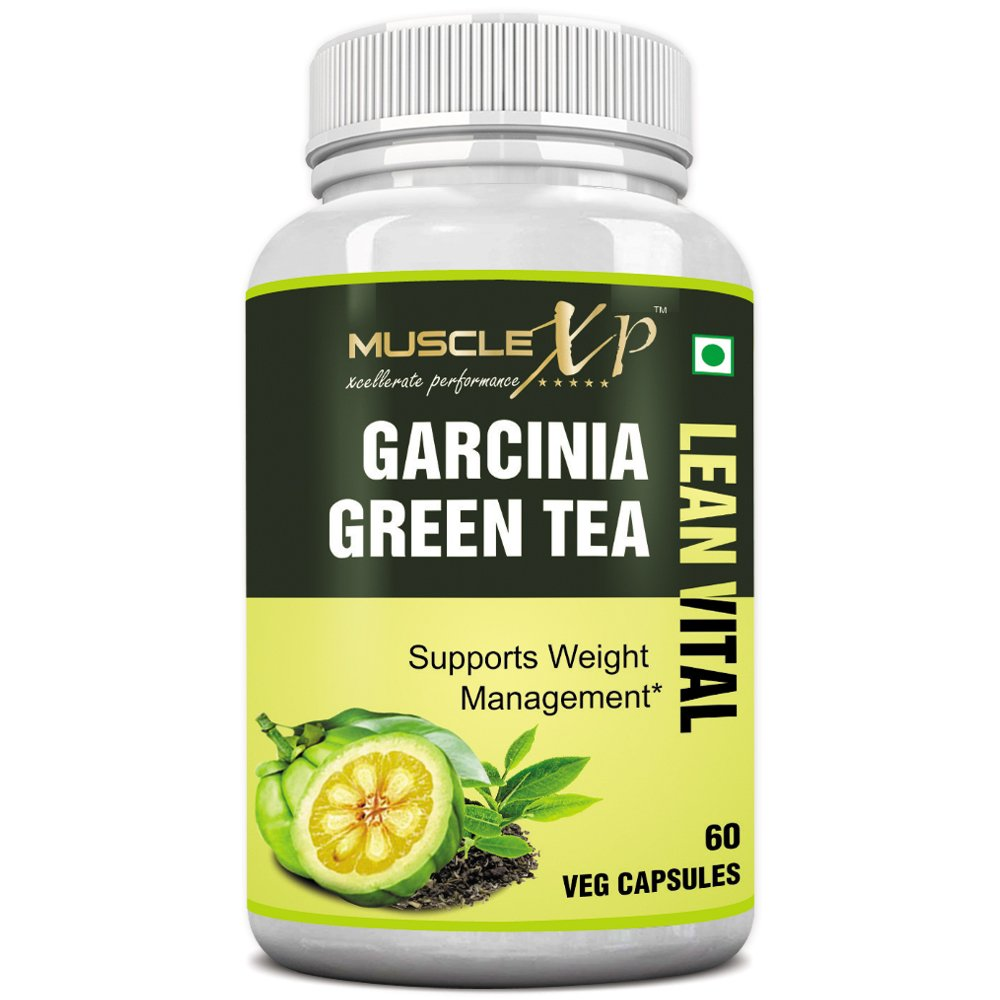 MuscleXP Garcinia Green Tea Lean Vital - 60 Veg Capsules