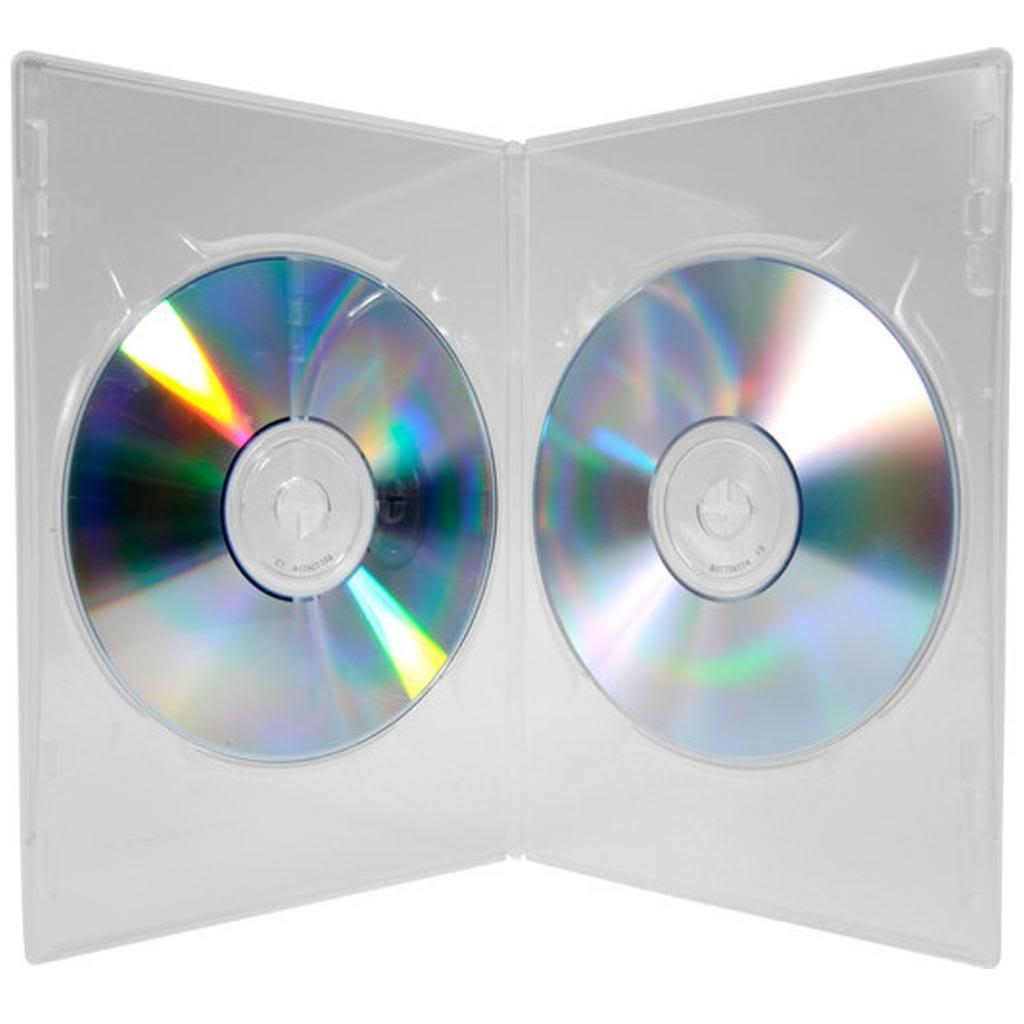 Four Square Media - 25 estuches para DVD con capacidad para ...