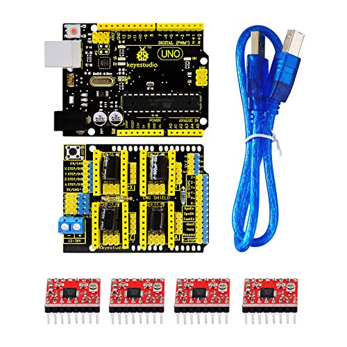 Arduino Shield a4988 driver compatible