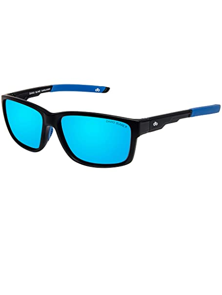 73aaec3796 David Blake Blue Wayfarer Polarised UV Protected Sunglass -  SGDB1599xBAM0021C3