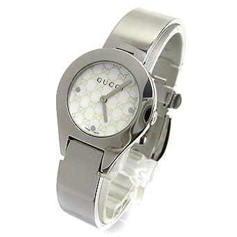 47c52f74d767 [グッチ]GUCCI 腕時計 6700L バングルウオッチ シグネチャー シェル文字盤 watch レディース 中古