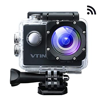 VicTsing Eypro 1S Cámara Deportiva Sumergible, 1080p Vídeo y 12MP