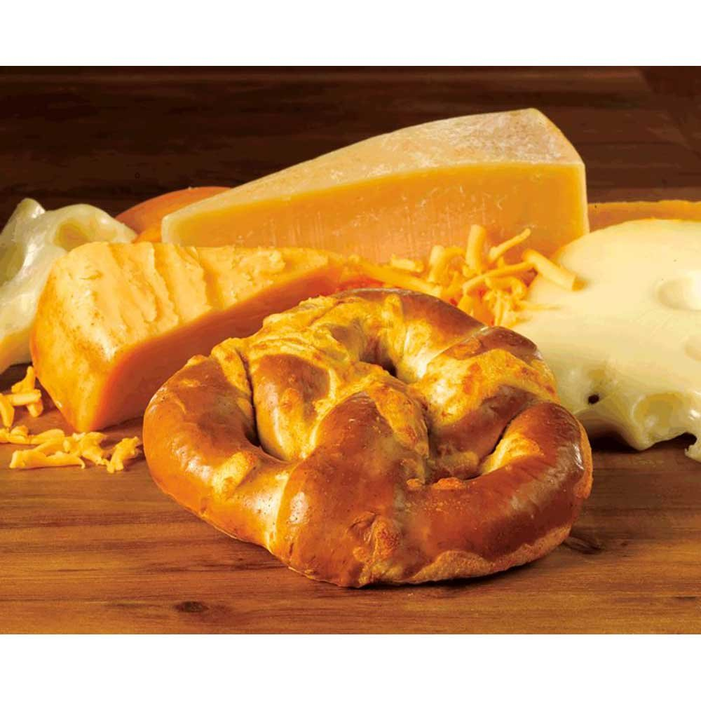 Kim and Scotts Grilled Cheese Soft Stuffed Pretzel -- 24 per case. by J and J Snack Foods (Image #1)