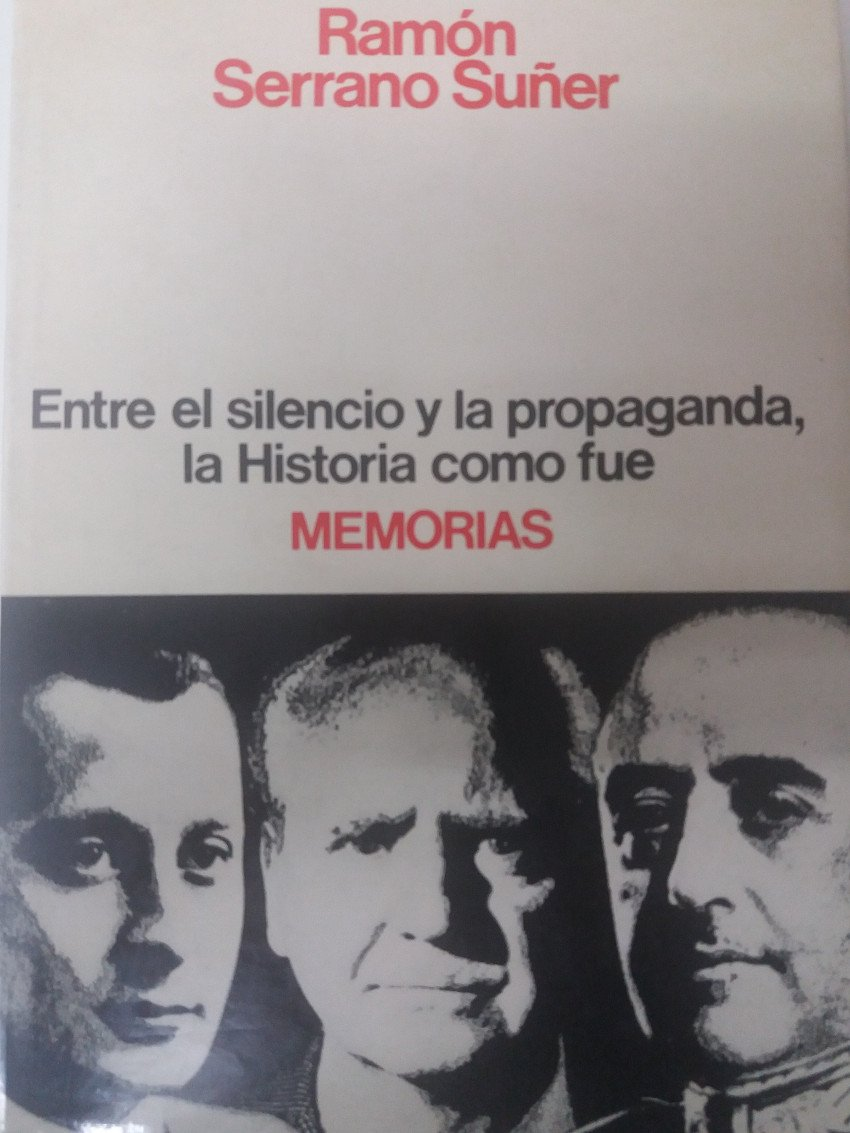 Memorias de Serrano suñer (Espejo de España): Amazon.es: Serrano ...