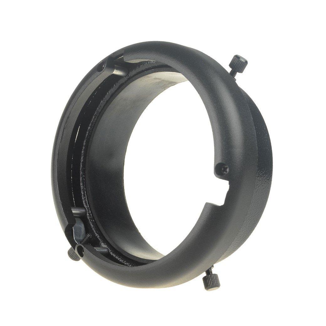 DSLRKIT 95mm Mount to Bowens Mounts Ring Studio Adapter Flash Strobe 160W 250W 300W by DSLRKIT