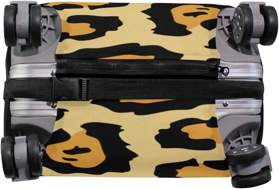 MALPLENA Animal Tiger Painting Luggage Protector Suitcase Cover