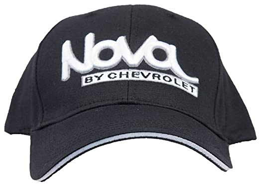 6e343434395 Amazon.com  Chevy Hat Nova by Chevrolet Embroidered Logo Adjustable ...