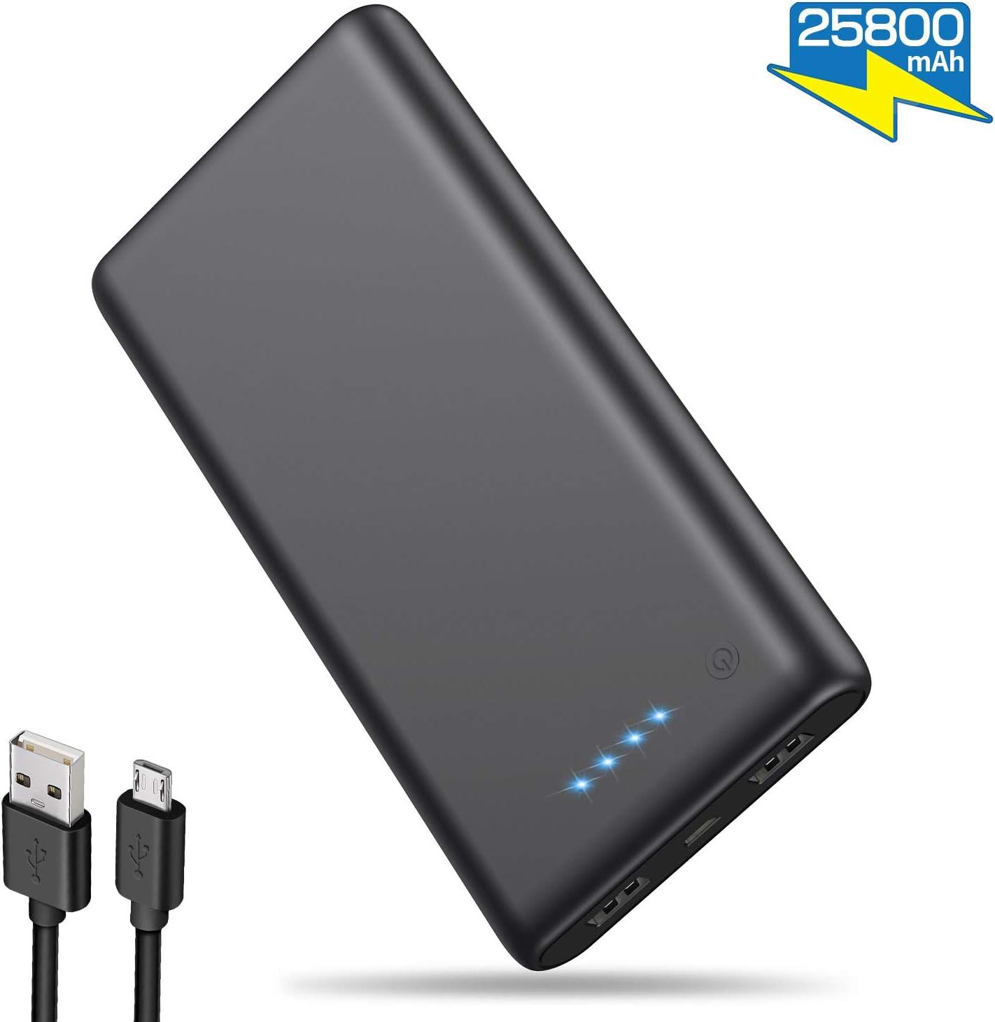 iPosible Batería Externa 25800mAh [Versión Actualizada] Alta ...