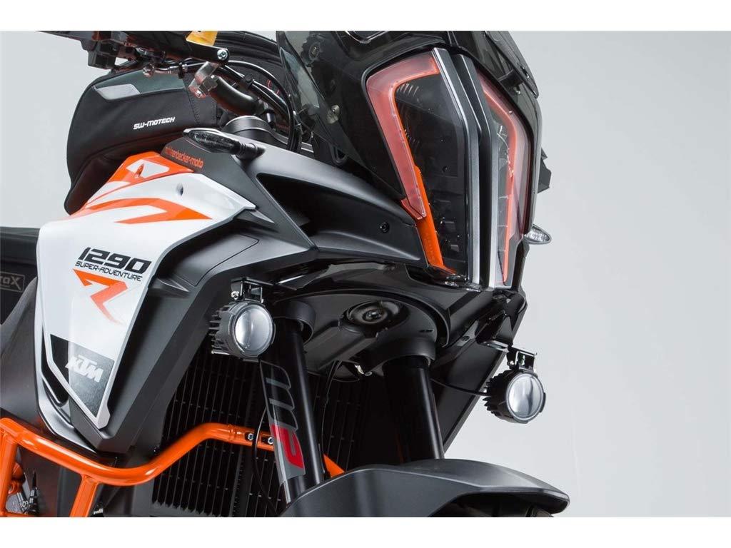 KTM 1290 Super Adventure S/R 2016 Support de Phare Noir SW-Motech