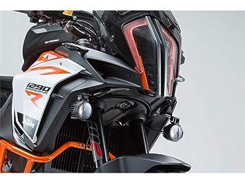 SW-Motech Soporte de Faro NSW.04.873.10000/B, Color Negro, KTM 1290 Super Adventure S/R (a Partir de 2016): Amazon.es: Coche y moto