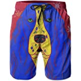 9d0c8db8da New Pop Art Dog Springer Spaniel Men's Swim Trunks Summer Suit with Pockets