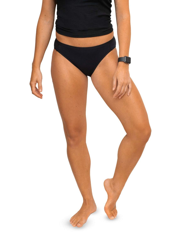 356d67eee6e2 WoolX Roxie - Women's Bikini - Lightweight Merino Wool Underwear:  Amazon.co.uk: Sports & Outdoors