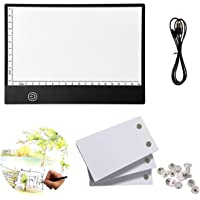 flip Book kit: 270 Sheets Animation Paper with Removable Screws & LED Light Box for Tracing and Drawing, USB Powered A5…