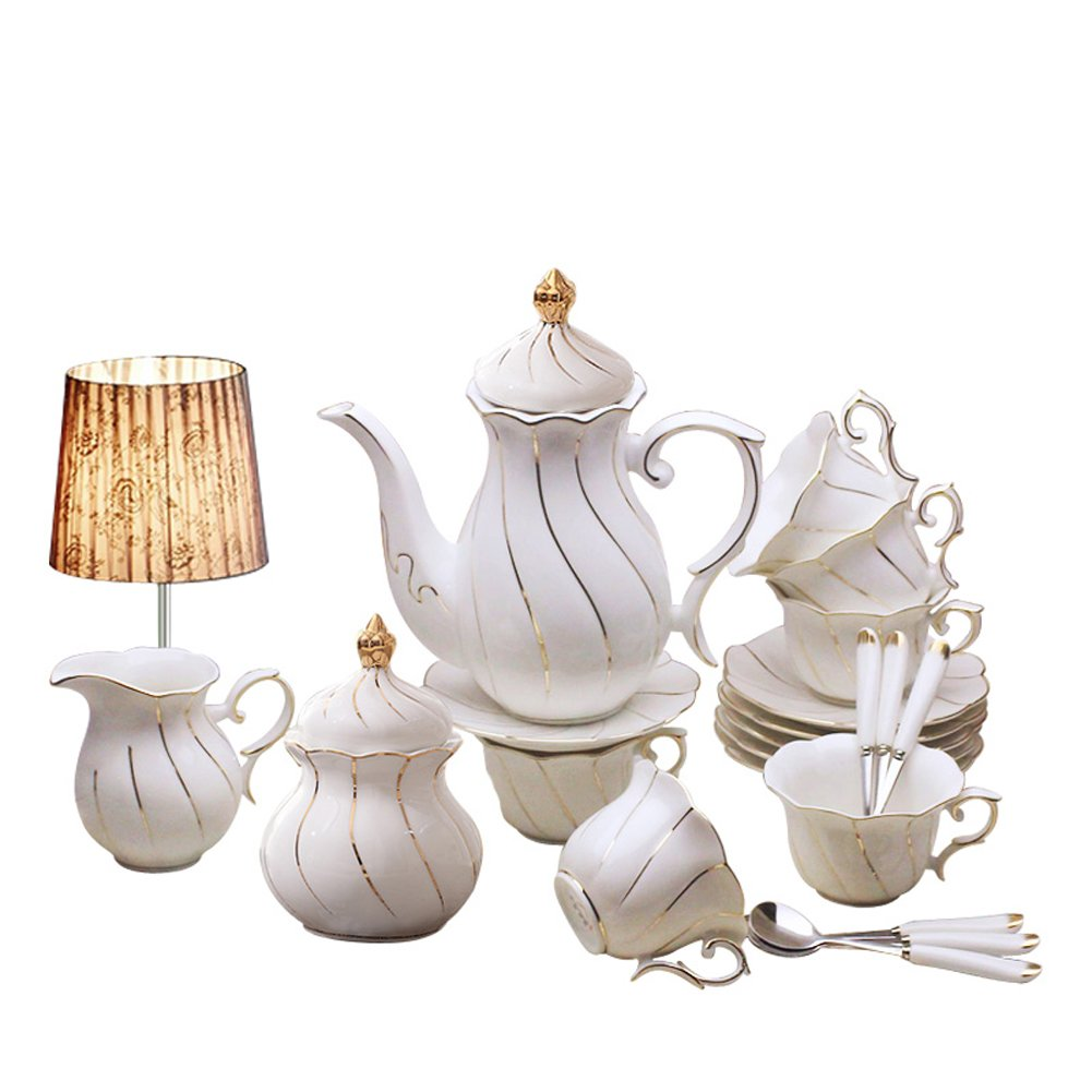 Yosou Home European 15-piece Coffee Set Tea Set Tea Service For Wedding Gift