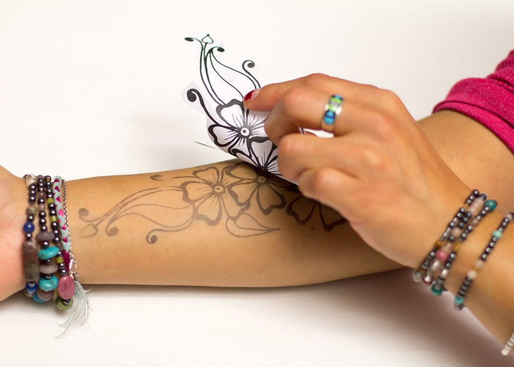 100 100 colored henna tattoo kits are henna tattoos for Jagua tattoo amazon
