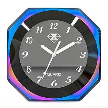 """Perfectech - Reloj de manillar luminoso para motocicleta, impermeable, 7/8""""-"""