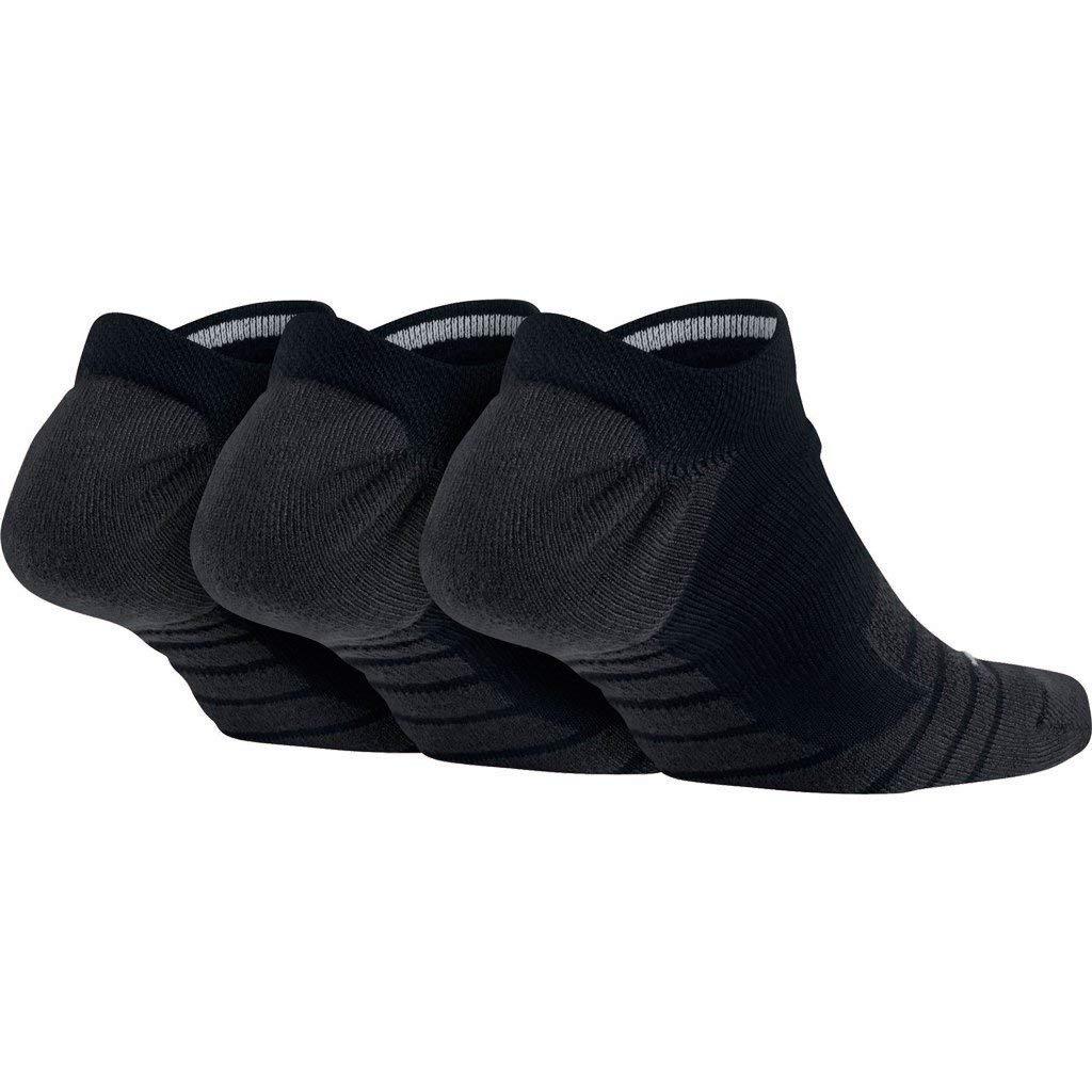NIKE Women's 3-pk. Dri-FIT Low Cut Socks (Black) by Nike