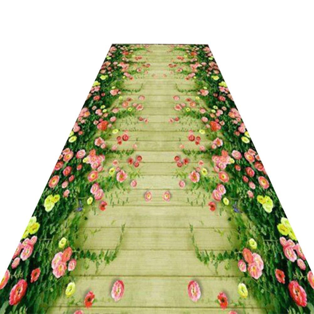 HAIPENG-Läufer Teppiche Flur Rasen Teppich Teppich Teppich Extra Lang Mit Anti-Rutsch Zurück Eingangsbereich Einfach Zu Säubern Waschbar Besonders Angefertigt (Farbe   A, größe   0.6x3m) B07PBHL8FY Teppiche bbccc9