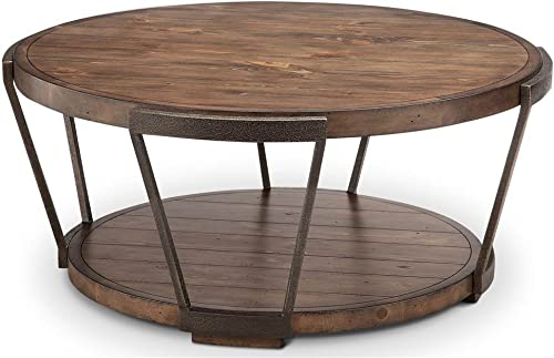 Magnussen Yukon Industrial Bourbon Coffee Table