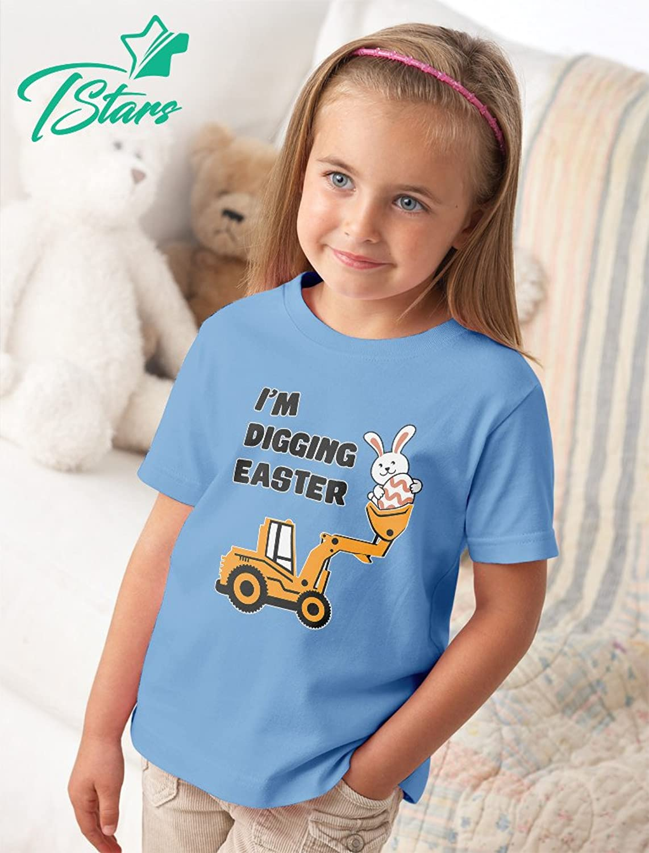 Amazon.com: Tstars I\'m Digging Easter Gift For Tractor Loving Boys ...