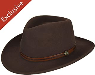 product image for Hats.com Gadabout Outback Hat - Exclusive Pecan, Medium