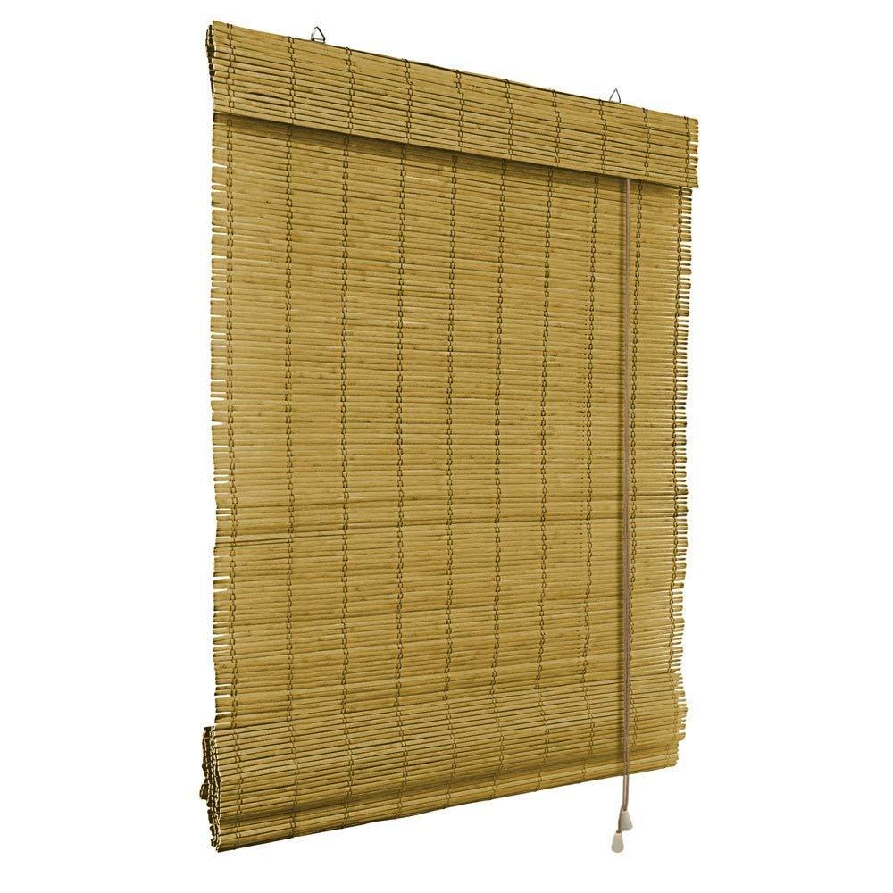 VICTORIA M Bambus Raffrollo 120 x 160cm in braun - Fenster ...