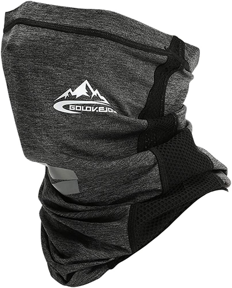 Cooling Neck Wraps for Summer Heat,Balaclava Riding Face Mask Neck Gaiter for Men &Women
