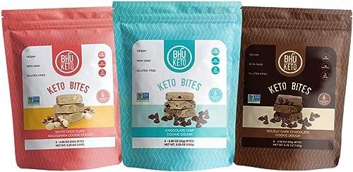 BHU Keto Bites Variety Pack 3 Bags