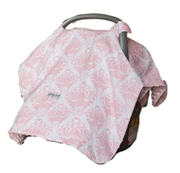 Amazon.com Carseat Canopy (Angelina) Baby Infant Car Seat Cover w/Attachment Straps and Minky Fabric Baby  sc 1 st  Amazon.com & Amazon.com: Carseat Canopy (Angelina) Baby Infant Car Seat Cover w ...