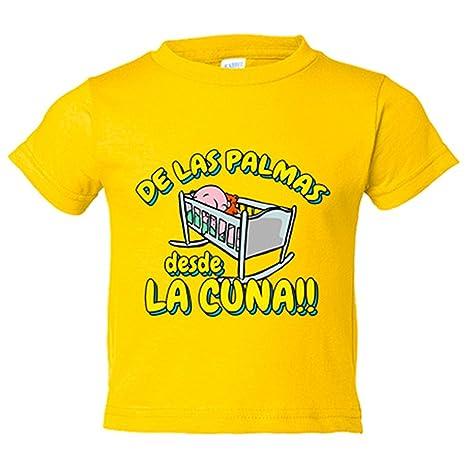 Camiseta niño de Las Palmas desde la cuna Gran Canaria fútbol - Amarillo, 3-