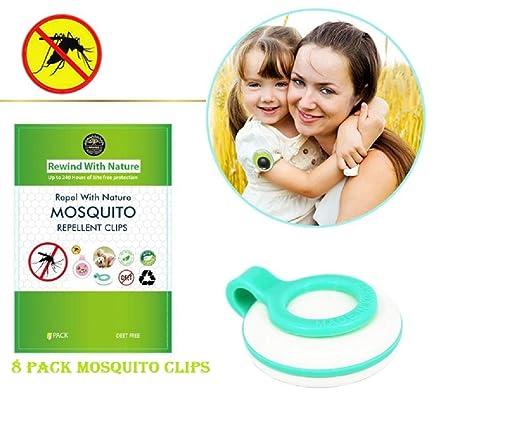 Pinzas repelentes de mosquitos Rewind With Nature, paquete ...