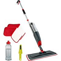 VENETIO Premium Spray Mop for Floor Cleaning with Washable Pad and Refillable Sprayer - Reusable Wet Microfiber Mop Set…