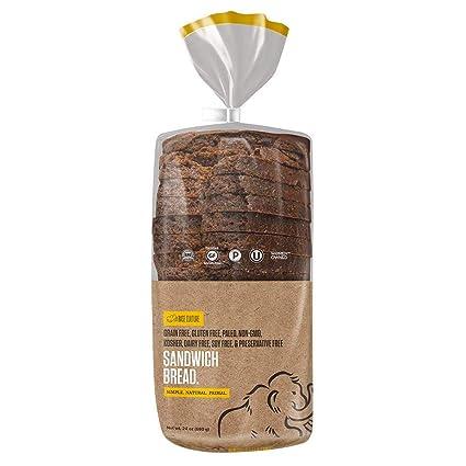 Paleo Pan, certificado 100% libre de gluten, 18 tajadas por ...