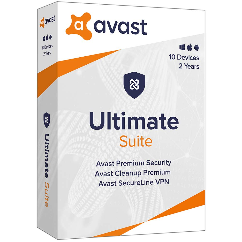 AVG Technologies Avast Ultimate 2020, 10 Devices 2 Year 2020 by Avast!