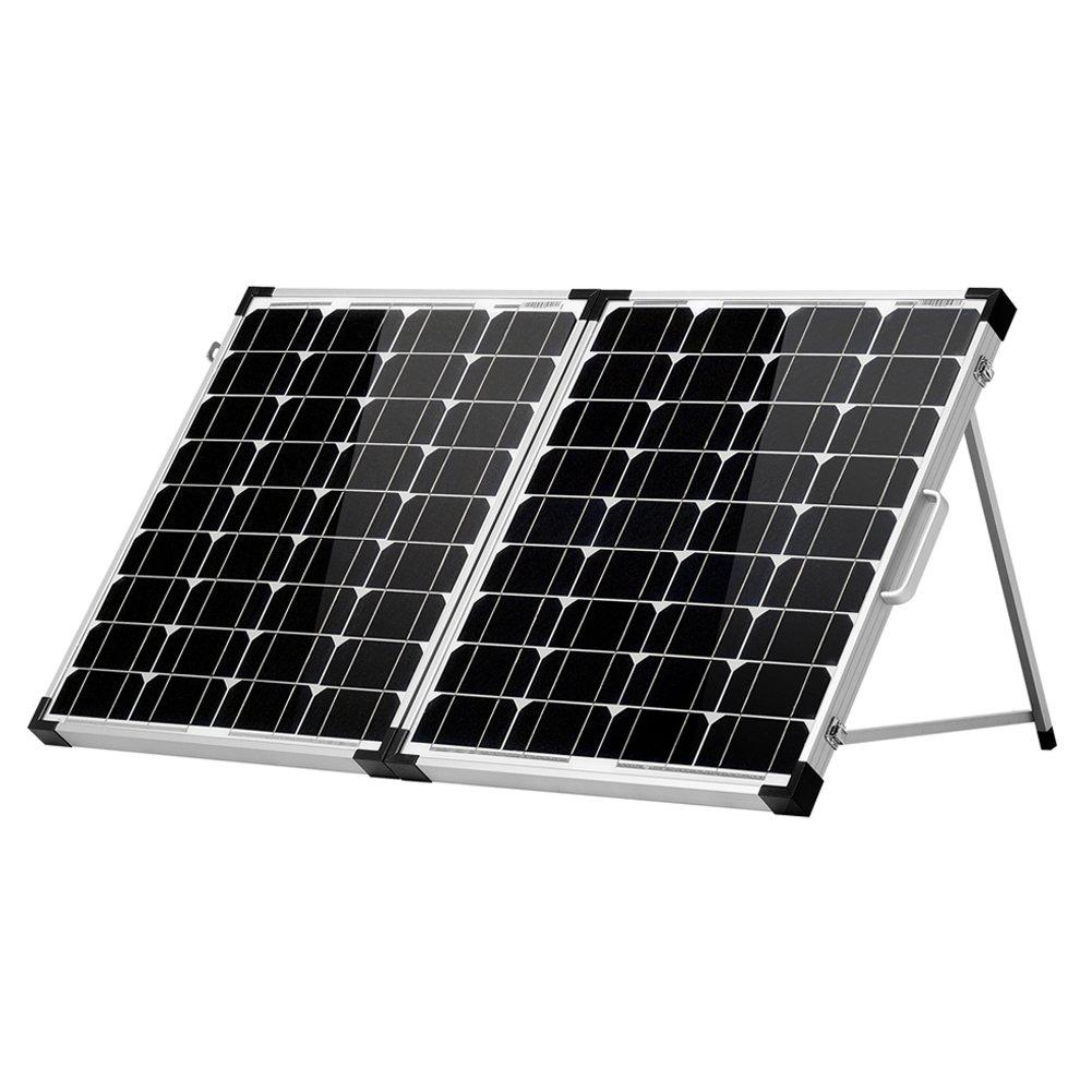 DOKIO 100w(50x2) 12v Monocrystalline Foldable solar panel FSP-100M