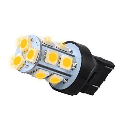 GG Grand General 70580#7440 Amber 13 LED Tower Style Light Bulbs, 12V, Pair: Automotive
