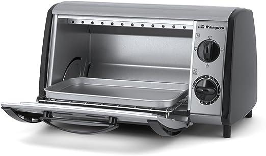 Orbegozo HO810A Mini horno- tostador multifunción, 800 W, 8 litros, Gris: Amazon.es: Hogar