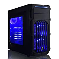 ADMI Gaming PC: FX-8350 4.20GHz, GTX 1050 Ti 4GB, 8GB RAM, 240GB SSD, WiFi, Windows 10