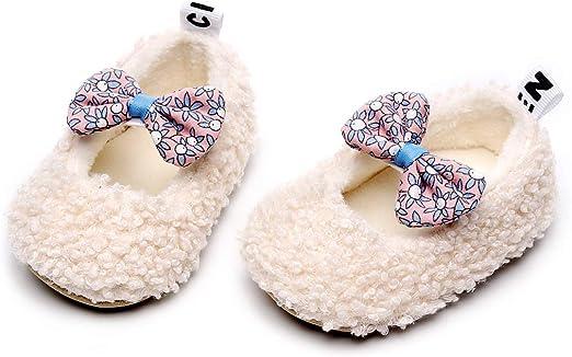 Infant Baby Girls Slippers Cozy Fleece