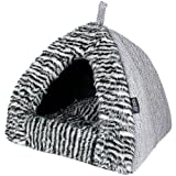 Parisian Pet Cabana House Pet Bed, Gray Review