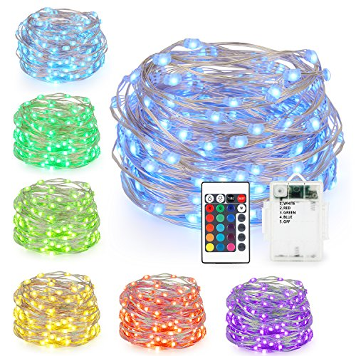 String Lights Battery Powered Changing product image
