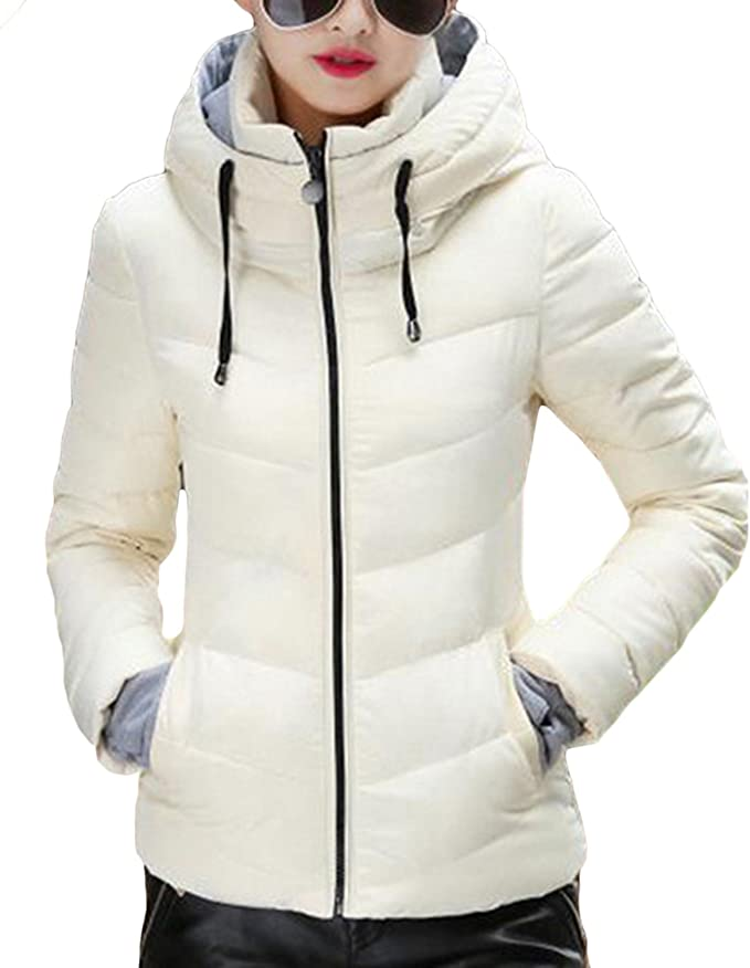 MUBYTREE Thickened Winter Coats for Women