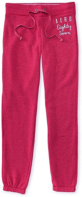 Aeropostale Womens Classic Cinch Casual Sweatpants