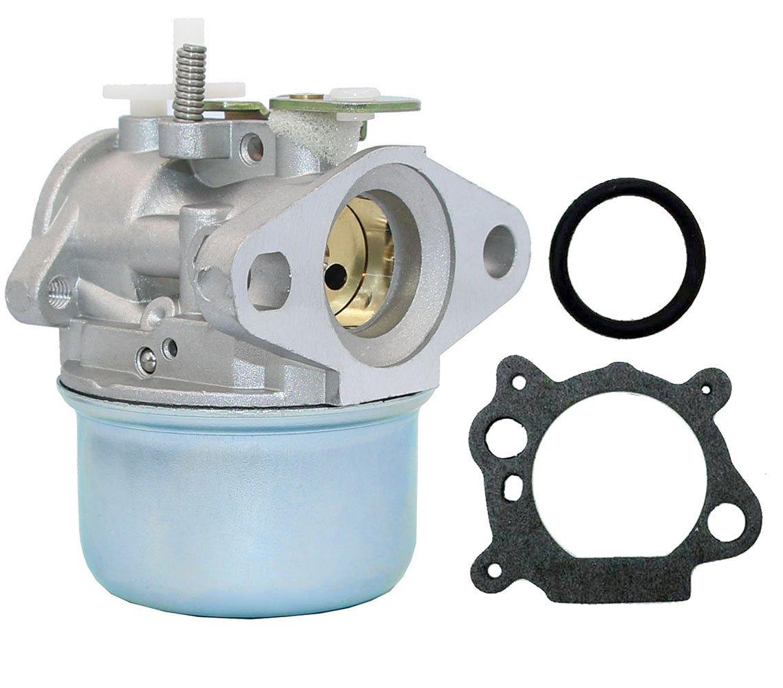 HOOAI 799869 Carburetor Lawnmower 792253 497586 499059 Pressure Washer carborator Rotary 14112 Oregon 50-658 - Carburetor for Briggs & Stratton by HOOAI