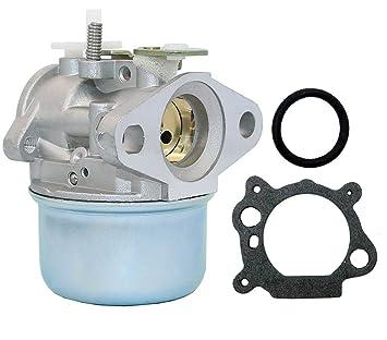 Carburador Stratton para cortacésped 799869, 792253, 497586, 499059 limpiador a presión de carburador rotatorio Oregón 14112, 50-658: Amazon.es: Jardín