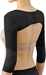 14b77ee08a Ausom Womens Long Sleeve Shaper Slimmer Arm Shapers Back Shoulder Support  Wrap Correct Posture Corrector Humpback